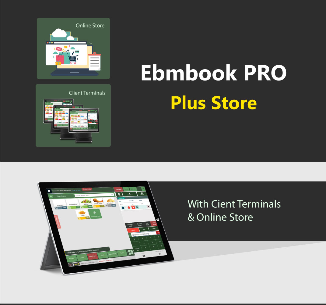 EPOS With Online Store and Client Terminals