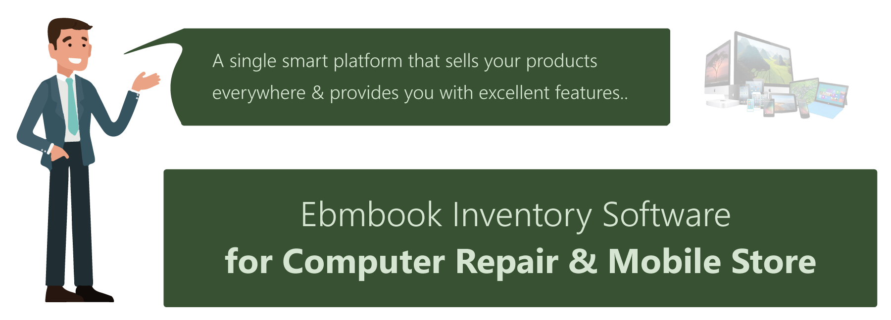 Inventory software for computer shop